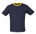 T-Shirt Marine Geel